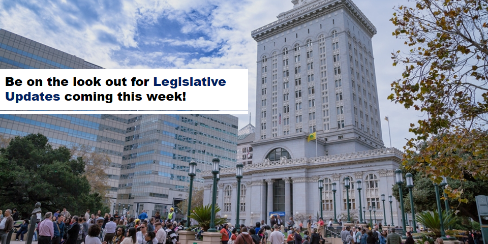 Watch Legislative Video Announcement!