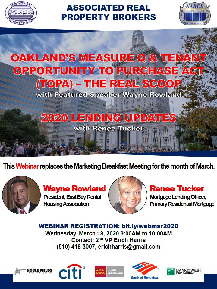 ARPB March 2020 Marketing Breafast