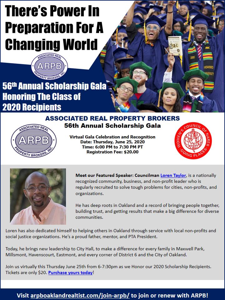 ARPB 56th Annual Scholarship Gala 2020