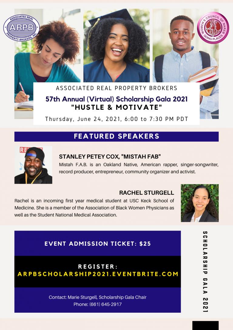 ARPB 57th Annual (Virtual) Scholarship Gala 2021
