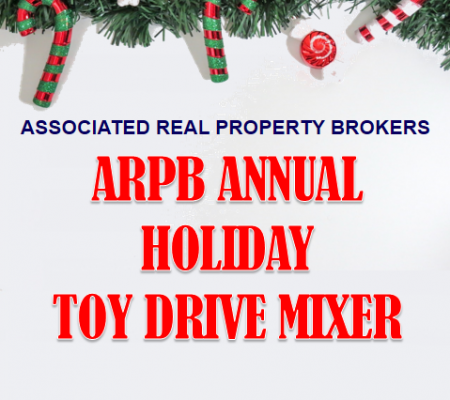 ARPB Annual Holiday Toy Drive Mixer 2019